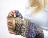 Purple Alpaca Mitten, Alpaca Mittens, Convertible Mittens, Fingerless Gloves, Crochet Mittens, Autumn Accessories, Fall Mittens, Fall Gloves