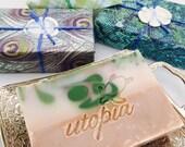 Utopia Bath Coconut Basil Lime Soap
