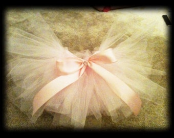 READY TO SHIP Baby Pink Tutu Photography Prop Newborn-3T