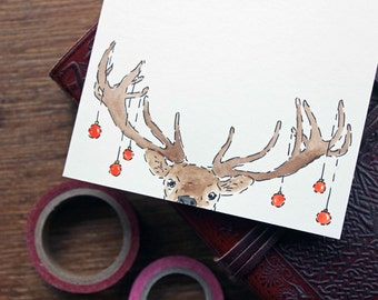 Christmas finds joyeux no l curated by faraboule on etsy for Christmas card drawing ideas