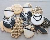 Gatsby Themed Sugar Cookies (12)