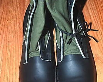 1992 US Army Spike Protective Jungle Combat Boots -  Size 12 1/2 XN