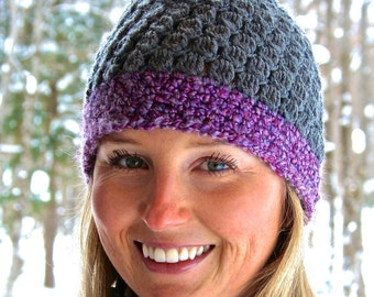 Crochet Beanie Hat PATTERN Digital Download Instant Download