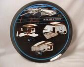 Atwood Lake Lodge Smoke Glass Serving Advertisement Promotional Plate