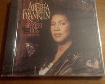 NEW Aretha Franklin Greatest Hits CD from 1994, sealed CD, 90's, vintage music, egst, Greece