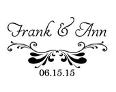 Wedding stamp,save the date stamp,SELF INKING custom address stamp,personalized stamp,WS07