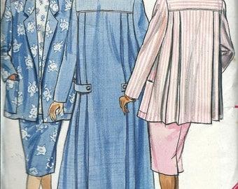 Rare Butterick 4662 Maternity Coat, Jacket, Skirt and Pants Pattern, 14-16-18 UNCUT