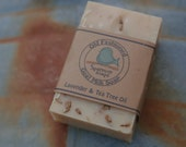 Tea Tree Oil & Lavender Goat Milk Soap