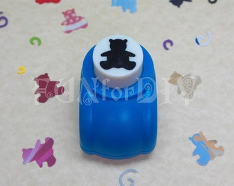13x14mm medium size paper punch -- bear