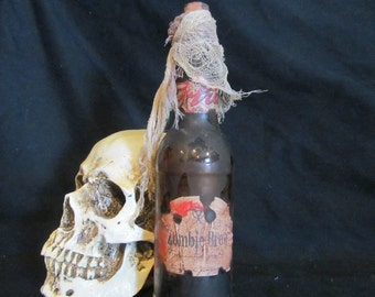 Halloween Potion Bottle Zombie Brew