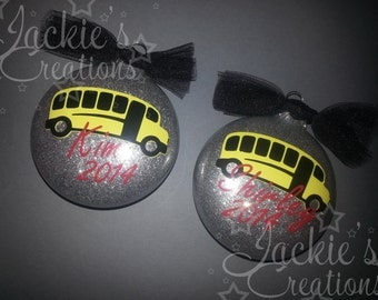 Personalized Ornament for School Bus Driver/Bus Driver Gift