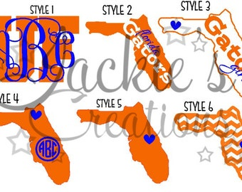 Florida Decals/Monogram Decals