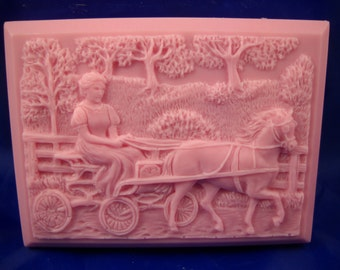 Carriage Ride Soap with white gift box