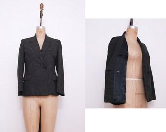 1940s speckled blazer | Vintage 40s boyfriend style blazer