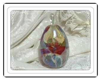 Vintage Perfume Bottle - Art Glass by Eper Studio, 1992 - PF1553a-032313000