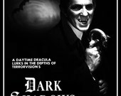 Dark Shadows / Barnabas Collins 1966 - 1971 Reproduction Promo Advertisement Stand-Up Display