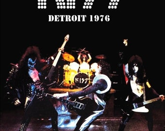 KISS ALIVE 1975 - 1976 Detroit Stand-Up Display