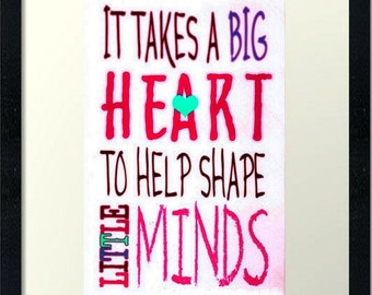 Big Heart-LOW COST--Downloadable Fine Art  Print-Will look Beautiful On Any Wall At Home Or Office