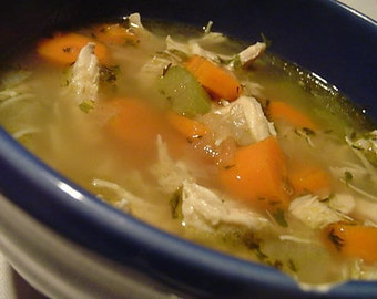 Homemade: HPB Savory Veggie CHICKEN SOUP Recipe