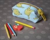 Miniature Pikachu Pencil Case and/or Pencil Set - for dolls (MSD/SD-sized)