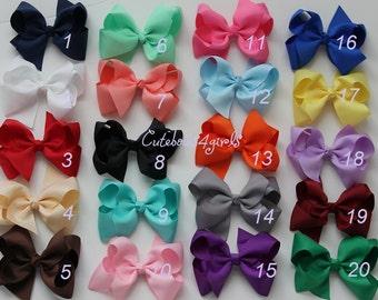 20 bows - 10% off girl hair bow - hairbow - bow for girl - todder bow - baby bow - fluffy bows - bow for girl - bow for hair - baby girl