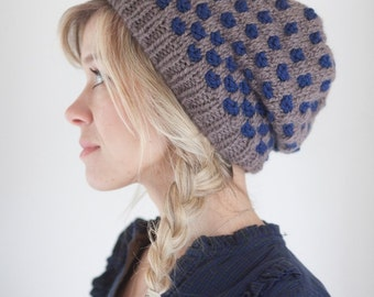 PDF pattern for knitting Ground Control hat