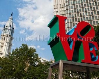 Love Park Philadelphia PA Pennsylvania Center City JFK Plaza