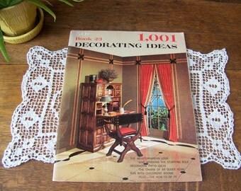 Captivating Vintage 1001 Decorating Ideas Book 1966, Book 23. Interior Decorating.  Vintage 1960s Decor