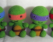 Chibi Teenage Mutant Ninja Turtle