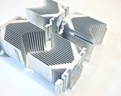 4 Large Silver Metal Heat Sinks