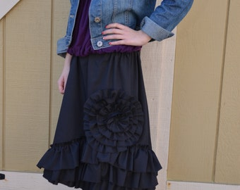 Girls Fun Petticoat Skirt with Ruffles