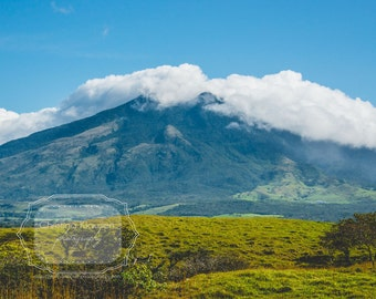 Nicaragua photo. Mountain Photograph. Volcano Photo. Nicaraguan Landscape. Large Wall Art. Central America photo. Fine Art Photography
