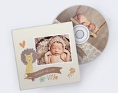 CD Case and CD Label Template for Photographers - CDVDS105