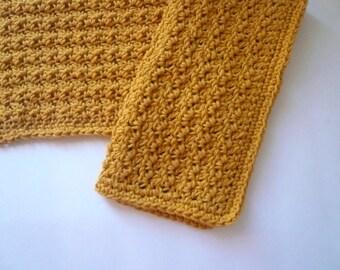 Large Crochet Dishcloths / Washcloths