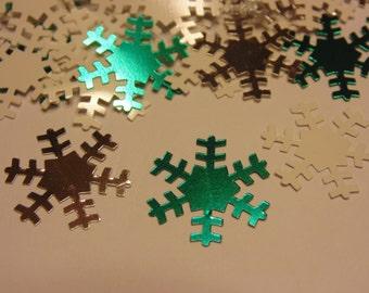 30 piece snowflake confetti /sequins mix , 19 mm (9)