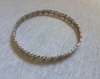 Vintage 925 Sterling Silver Design Bracelet