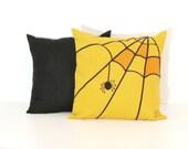 Halloween Pillow, Decorative Pillow covers, Halloween Home Decor, Designer Throw Pillow cases