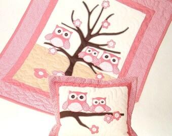 Baby Blanket, Organic Baby Blanket, Baby Quilt Blanket