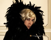 MADE TO ORDER Cloak Cape Mantle Evil Queen Ravenna Maleficent Raven Drag Queen