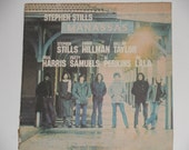 "Stephen Stills - Manassas - ""So Begins the Task"" - ""Johnny's Garden"" - Warner Brothers Records 1972 Vintage Gatefold 2 LP Vinyl Record Album"