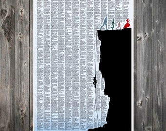 The PRINCESS BRIDE - full movie script/story poster,  A1