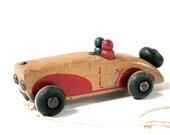 Vintage Wood Car