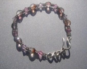 Crystal Bead Bracelet w/ Pink 860.