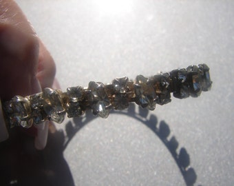 Vintage Rhinestone Bangle 861.