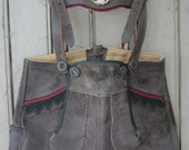 Vintage Child's Lederhosen