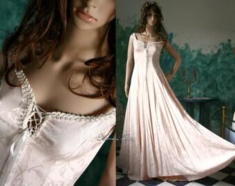 Fairy gothic-line alternative wedding dress - Arnica