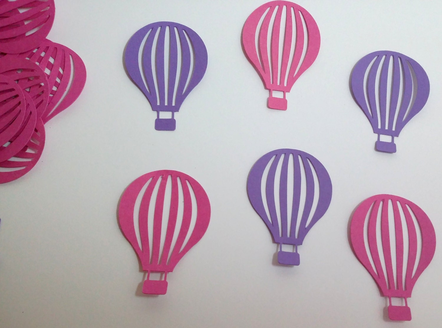 60 Large Hot Air Balloon Die Cut By PennysCraftSupplies On