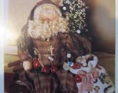 Christmas Pattern for Santa with bag