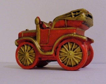 Vintage Jalopy Car Savings Bank