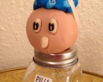 Mama's Got a Headache Pill Bottle